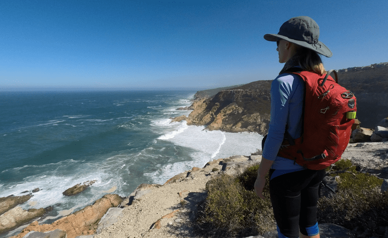 Hikers can expect spectacular views from the clifftops
