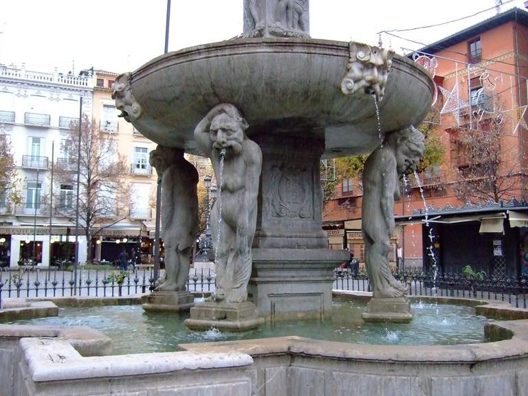 Granada's annual Christmas and medieval markets are held on Plaza de Bib-Rambla
