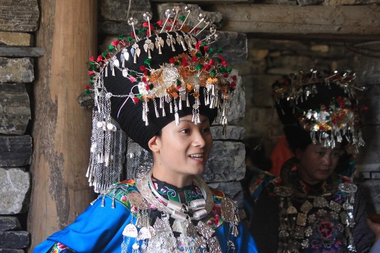 Traditional Miao dress