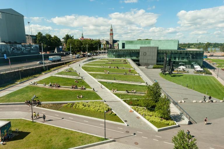 View of Töölö/ Pixabay