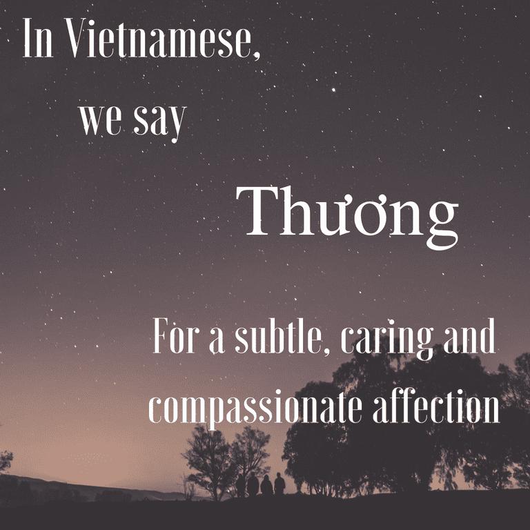 Thương-Compassionate affection