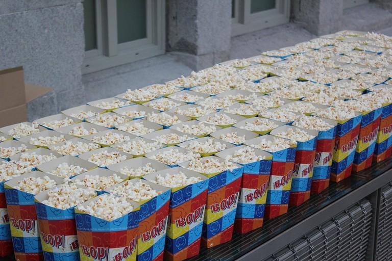 Buy some popcorn