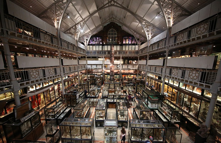 Interior of Pitt Rivers Museum | © User:Geni/WikiCommons