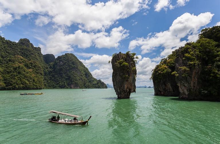Ko Tapu, Phuket, Thailand (commonly known as James Bond Island)