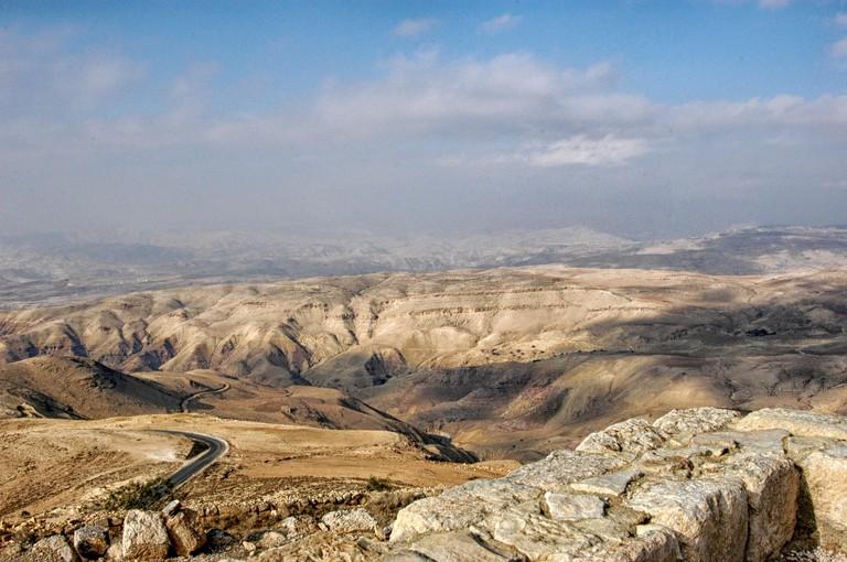 Landscapes in the North of Jordan