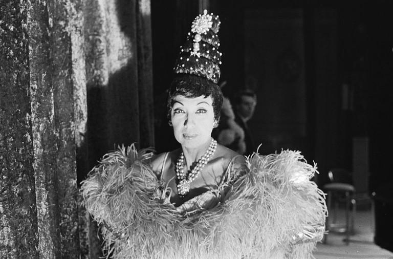 Josephine Baker in the Netherlands in 1964 │© Gelderen, Hugo van / Anefo (Nationaal Archief) / Wikimedia Commons