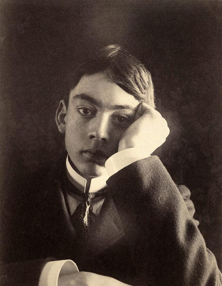 A young Gibran   Wikimedia Commons