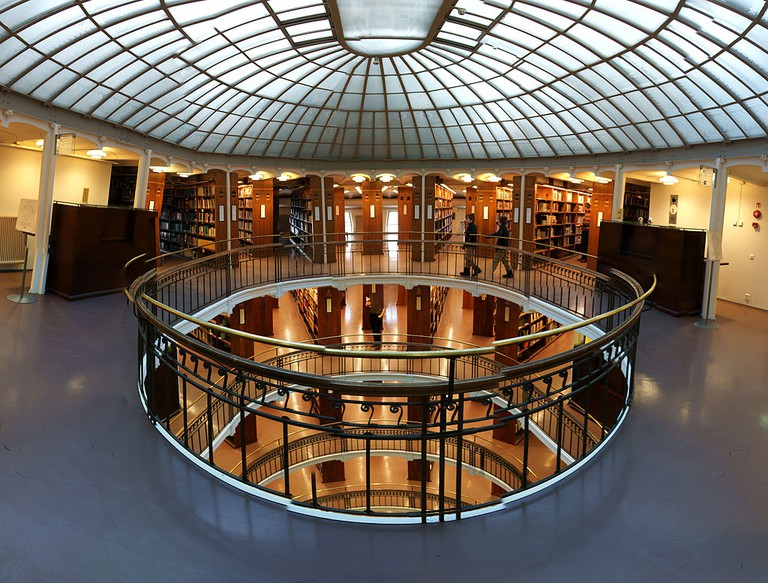 Interior of the National Library/ Wikicommons