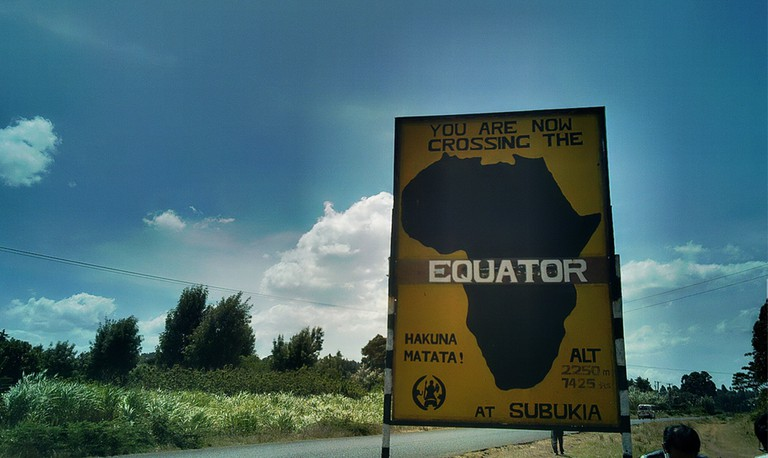 Passing through the equator | © Henry Bergius/ Flickr