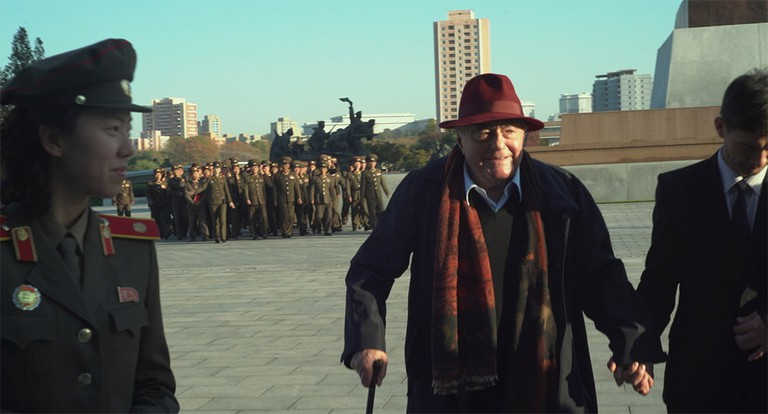 Claude Lanzmann in his documentary Napalm