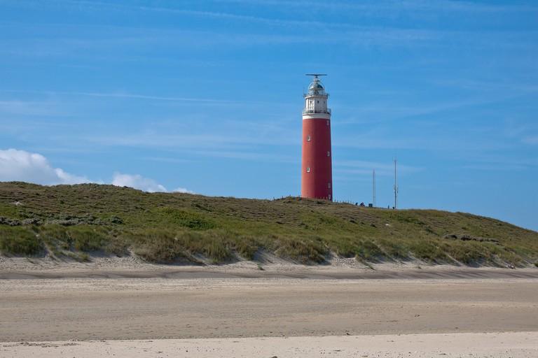 Texel's north-western shore