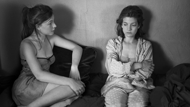 Louise Chevillote (left) and Esther Garrel in Lover for a Day