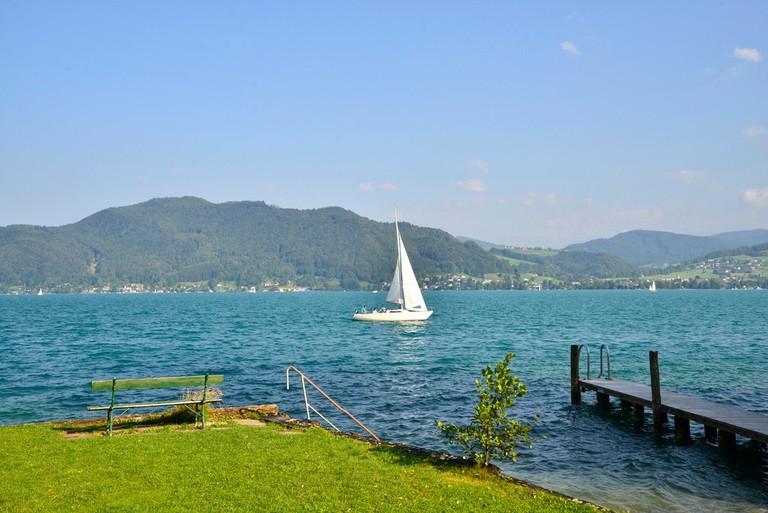 Lake Attersee Thema: Eins mit dem Wasser