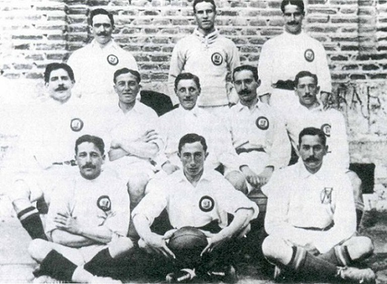Madrid C.F. in 1906, before 'Real' was added to the name