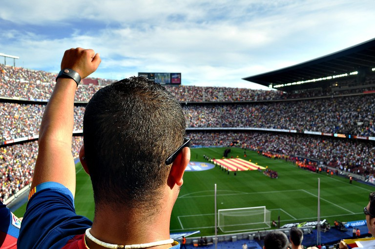 Join the crowd at the Camp Nou stadium