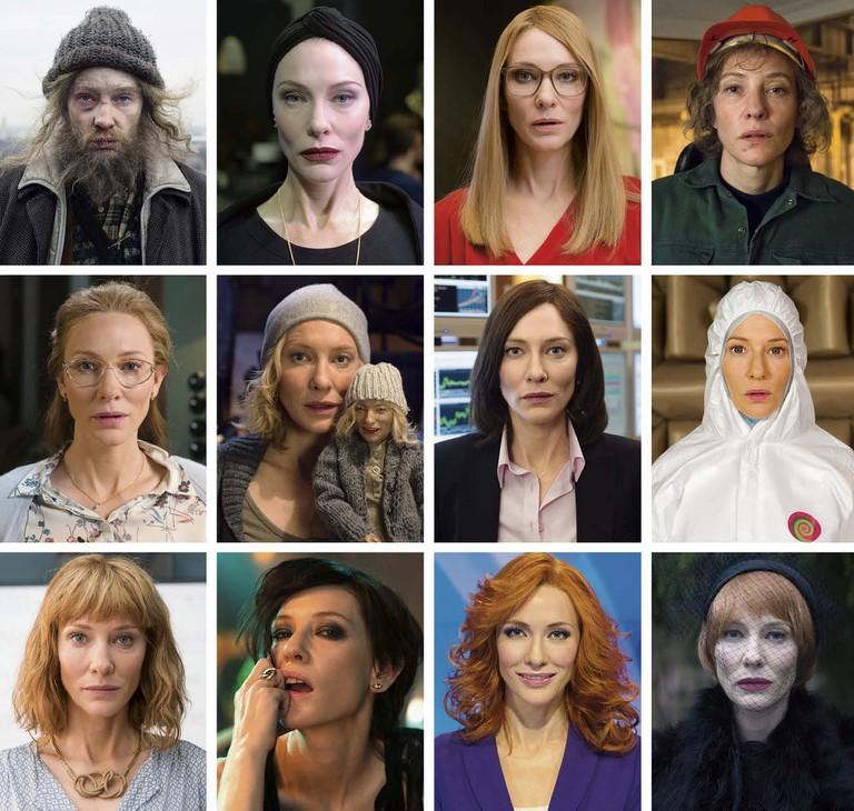 12 of Blanchett's characters