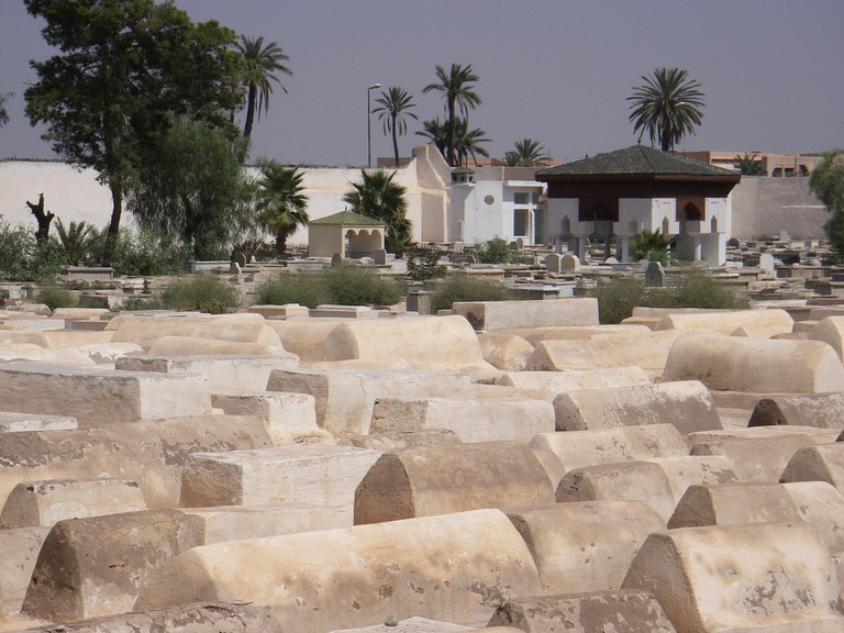 Jewish cemetery in Mellah, Marrakech