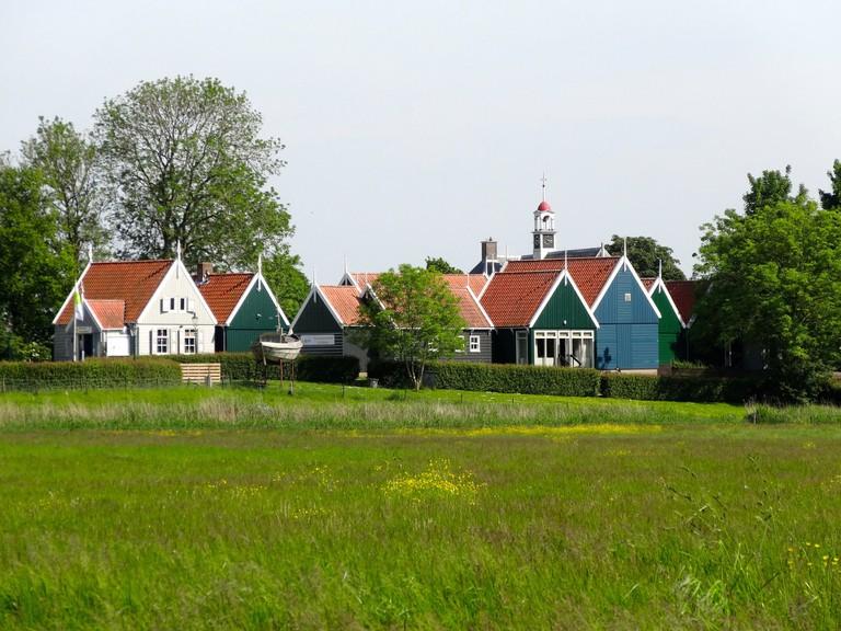 Houses in Schokland