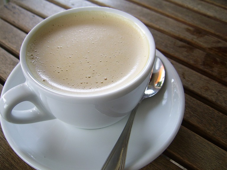 milky coffee | ©PublicDomainPictures / Pixabay