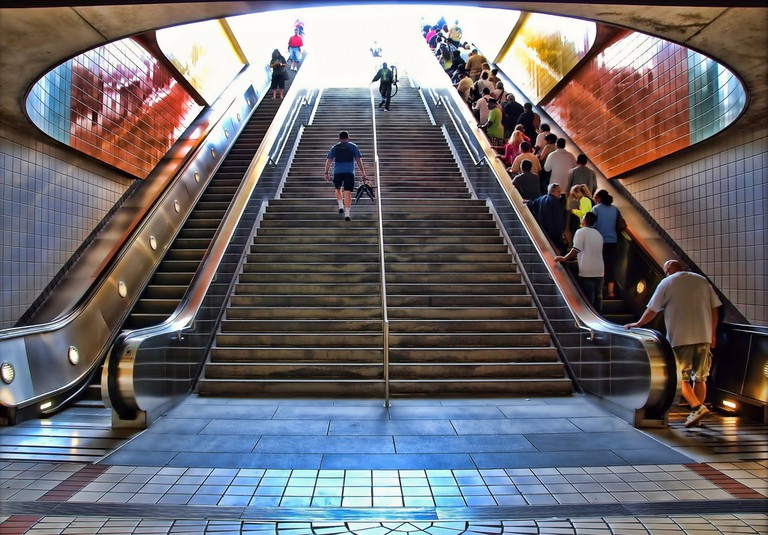 The North Hollywood Metro Station