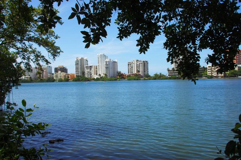 Part of Condado lagoon