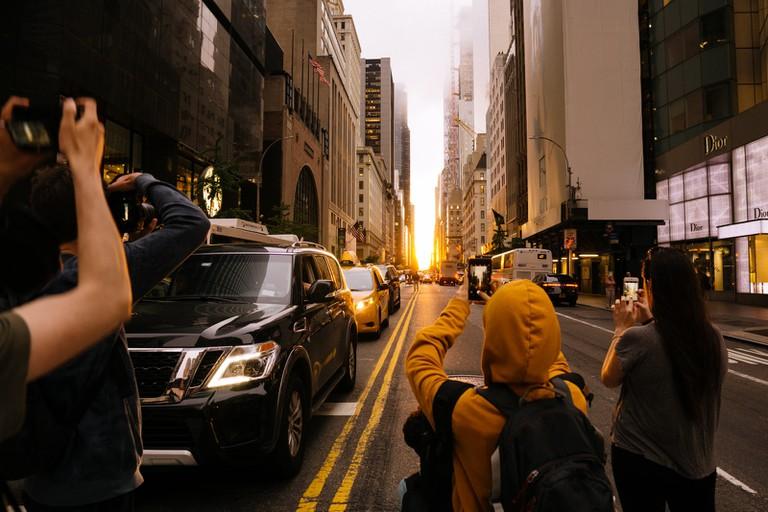 Manhattanhenge-New York-USA