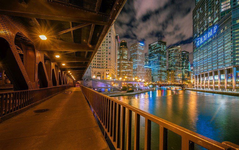 From the DuSable Bridge | © Pedro Lastra/Unsplash