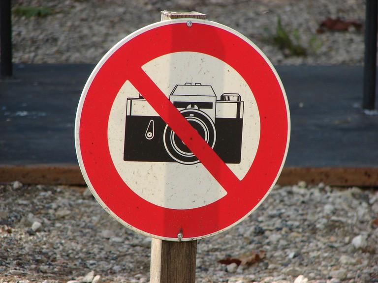 No photos, please