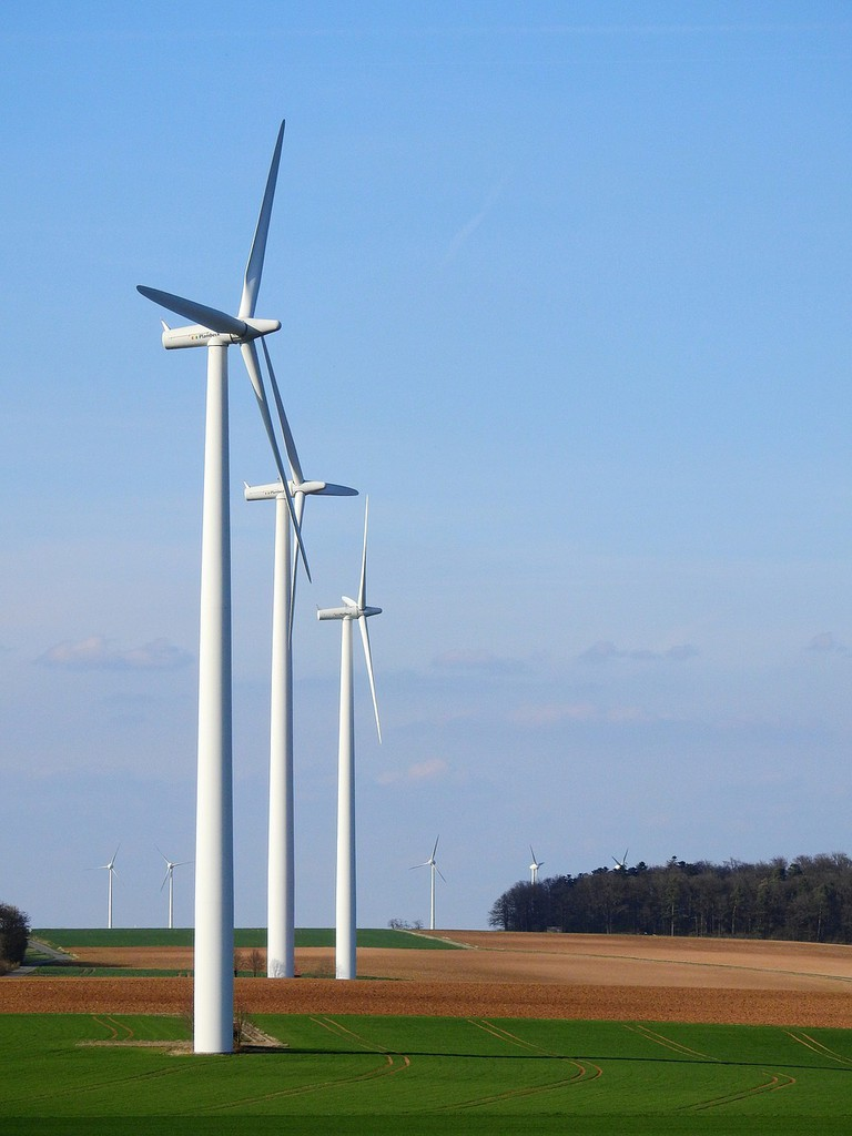 Today, wind turbines are part of Portugal's landscape