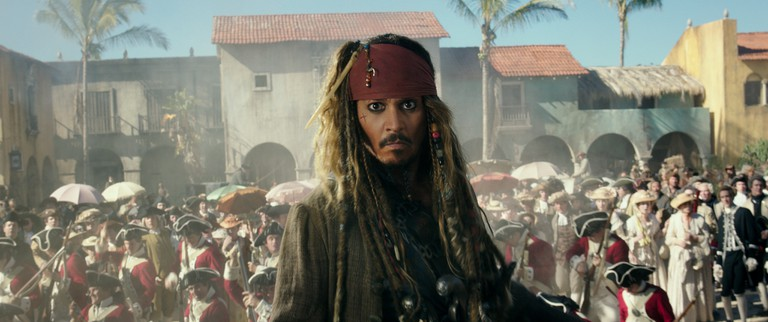 The Pirates of the Caribbean series