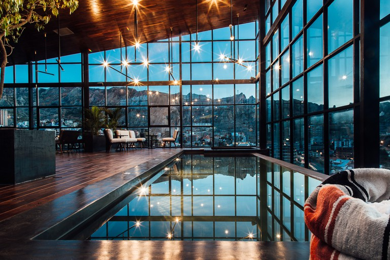 The pool at Hotel Atix