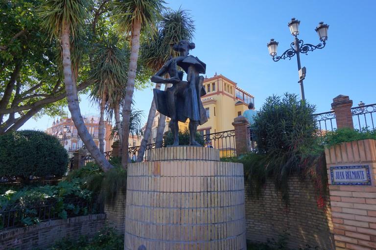 Statue of Juan Belmonte in Triana, Seville I