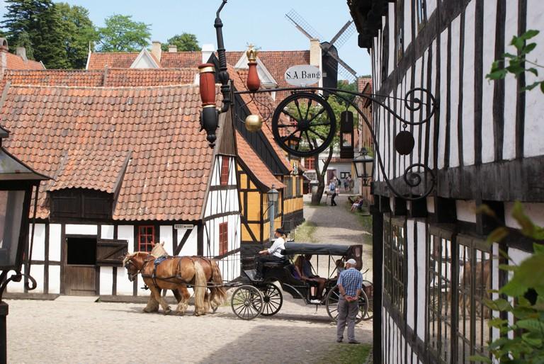 gamle by museum aarhus
