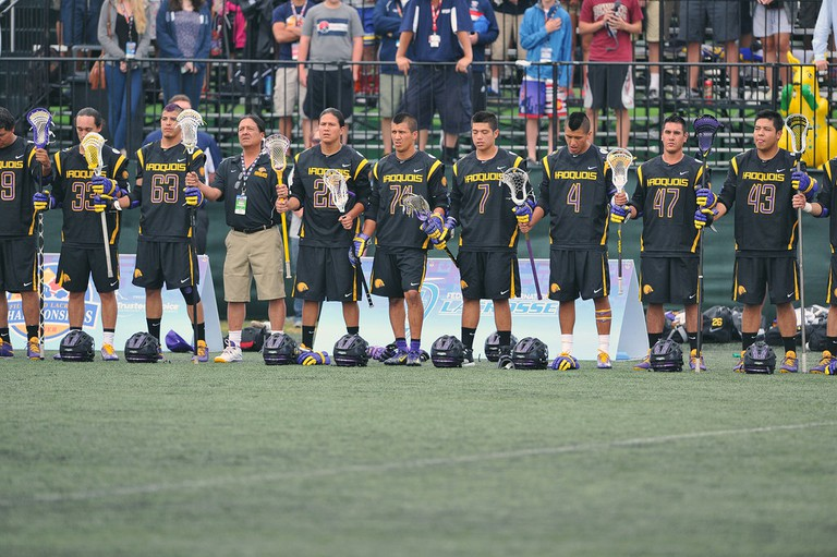 The Iroquois Nationals are still striving for their first international gold. | © Spirit Game