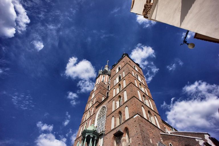 St Mary's Basilica, Market Square Krakow