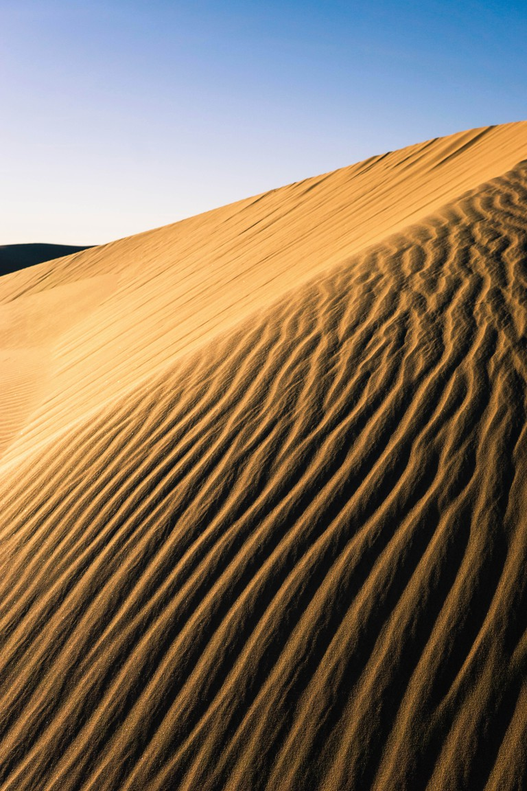 The imperial dunes in Yuma