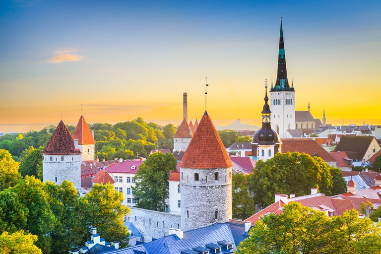 View of Tallinn's Old Town