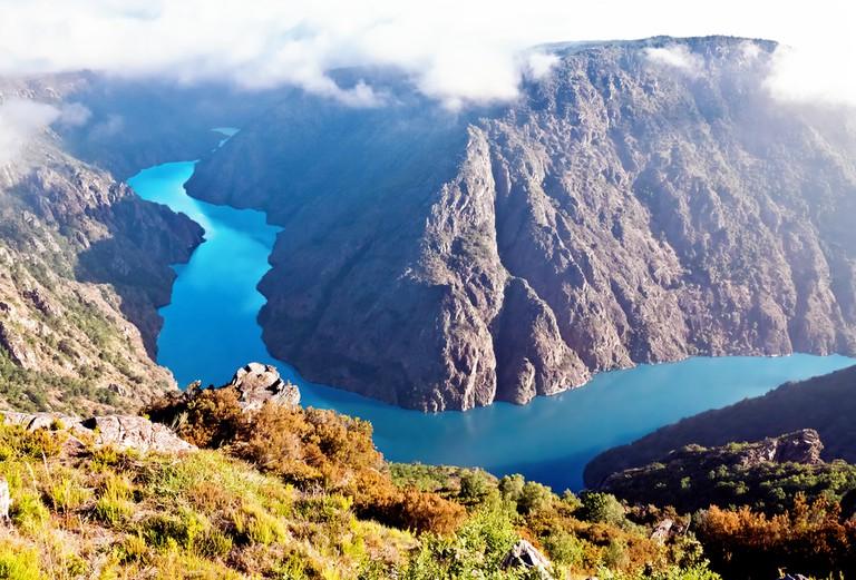 Canyon di Rio Sil, Galicia