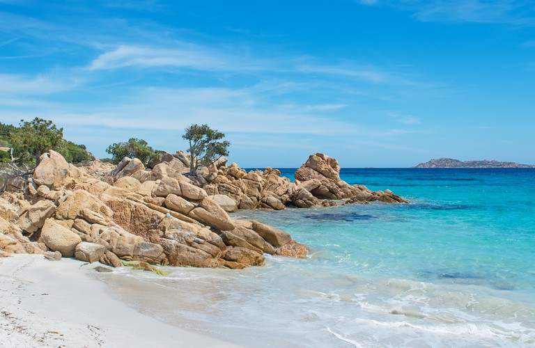Spiaggia Capriccioli, Sardinia, Italy