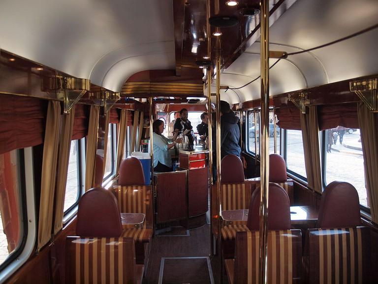 Interior of the Pub Tram/ Wikicommons