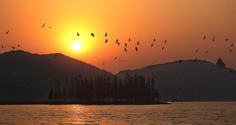 East Lake at Twilight