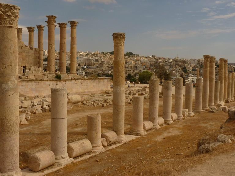 The Temple of Artemis, Jerash