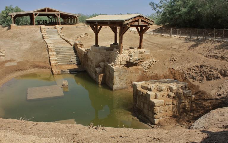 The baptism site of Jesus Christ in Jordan