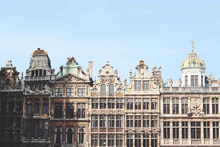 The guildhouses of the Grand Place | public domain / Pexels