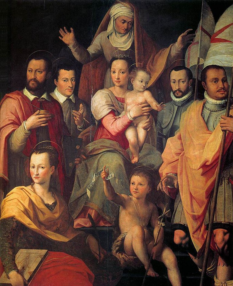 The Medici Family, The Lost Gallery, Flikr