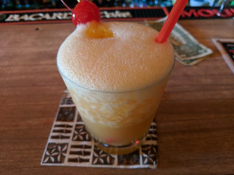 Tiki drinks at Tiki-Ti