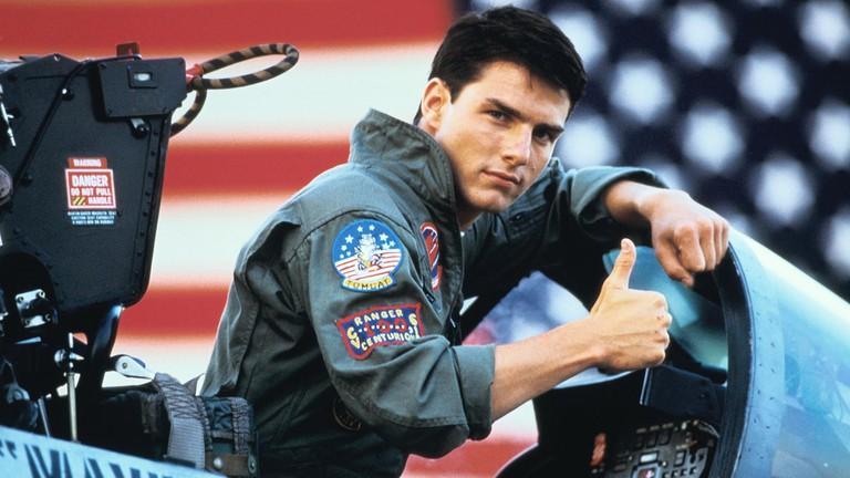 Tom Cruise in 'Top Gun'