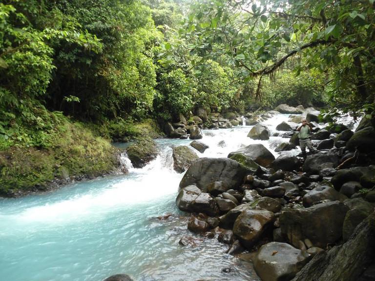Take a tour to a magical river