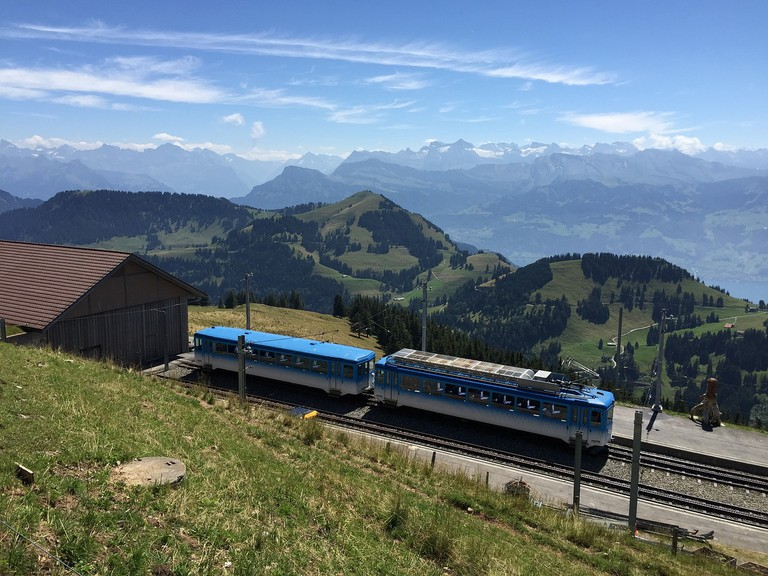 Switzerland's rail network often offers beautiful scenery, but at a cost