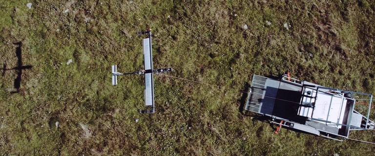 TwingTec's drone technology aims to bring clean energy to remote areas. Photo courtesy of TwingTec